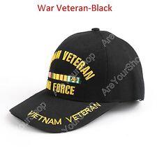 Embroidered United States War Veteran Gorra De Béisbol Vietnam War Veteran Cap B