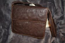 Stunning Vintage 1950's Ostrich Skin Leather Handbag