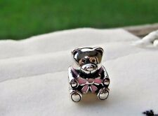 AUTHENTIC PANDORA CHARM  IT'S A GIRL BEAR  791124EN24