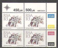 RSA 1988 Cactus/Plantas/Flores/Cactus/suculentas 1v 1990 R5 C/b (za10002)