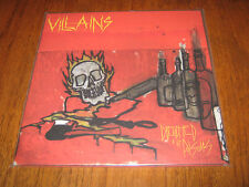 """VILLAINS """"Drenched In The Poisons"""" LP destroyer 666 vomitor"""