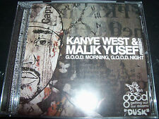 Kanye West & Malik Yusef  Presents Good Morning Good Night CD – Like New