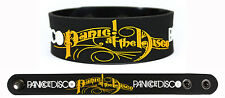 PANIC AT THE DISCO Rubber Bracelet Wristband White