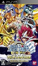 Used Saint Seiya Omega Ultimate Cosmo Japan Import (PSP, 2012) Japanese Version