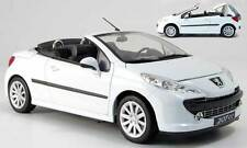PEUGEOT 207 CC CABRIOLET BLANCHE WELLY 1/18 WHITE COUPE BIANCA WEISS 1:18