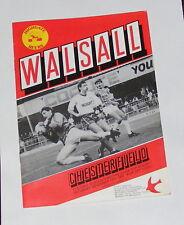 Walsall -v- Chesterfield 1986-1987