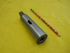 NEW 2 - 5 MORSE TAPER ADAPTER SLEEVE drill lathe mill mt tool holder POLAND