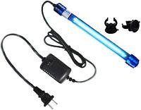 Aquarium UV-C Clean Light Submersible Waterproof Water Clean Lamp for Fish Tank