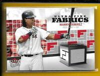 D5741 MANNY RAMIREZ 2006 ULTRA BOSTON RED SOX JERSEY CARD