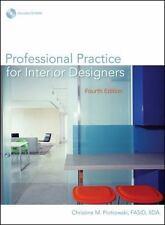 Professional Practice for Interior Designers, Christine M. Piotrowski, Good Book
