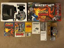 Pokemon Stadium Battle Set Nintendo 64 Console NUS-001 CIB Box Manual NTSC