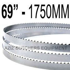 "Butchers Meat Bandsaw Blades (5 Pack). 69"" (1750mm) X 5/8"" X 4tpi"
