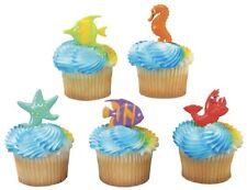 12 Sealife Friends Cupcake Party Picks LUAU Ocean
