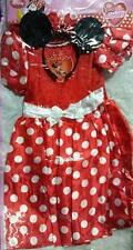 Costume Minnie rosso Disney 7-8 anni