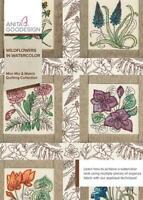Wildflowers in Watercolor Anita Goodesign Embroidery Machine Design CD NEW