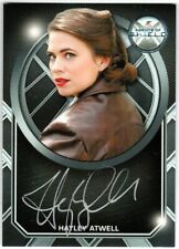 MARVEL: AGENTS OF SHIELD SEASON 2 HAYLEY ATWELL AS PEGGY CARTER AB EXC AUTOGRAPH