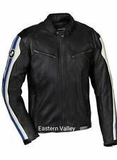 New Mens BMW Motorcycle Racing Biker 100% Cowhide Leather Jacket