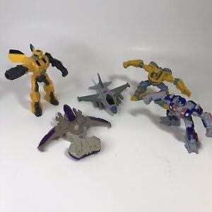 Transformers McDonalds Toy Lot - Optimus Prime Bumblebee - R4