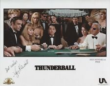 SUZY KENDALL 007 JAMES BOND AUTHENTIC AUTOGRAPH PRUE IN THUNDERBALL - RARE!