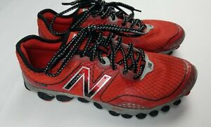 New Balance 3090 V2 Minimus Mens Red Running Shoes - Size 8.5