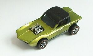 HOT WHEELS RED LINE PYTHON US LIME w DARK INT EXCELLENT CONDITION