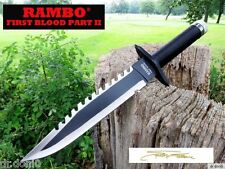 Rambo 2 couteau First Blood part II Bowie HUNTING KNIFE machette macete COLTELLO