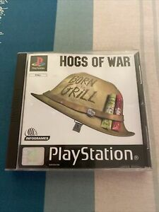Hogs of War  (PLAYSTATION 1) PS1- COMPLETE