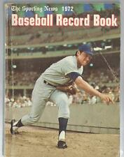 1972 Sporting News Baseball Record Book Tom Seaver New York Mets B