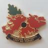 NEW - Operation Op CORPORATE - Falklands shaped Poppy badge (Gen.2)