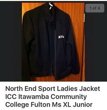 ICC Itawamba Community College Ladies Black North End Jacket-Size XL 16