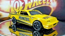 HOT WHEELS Yellow BUICK GRAND NATIONAL PENNZOIL ADVERTISING Black Stripes