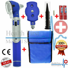 LED F.O ENT Diagnostic Otoscope Ophthalmoscope Opthalmoscope  Examination Set