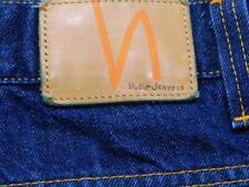 NUDIE JEANS CO AVERAGE JOE Dark Blue Denim Jeans 38W X 33L
