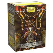 Dragon Shield Art Sleeves - Standard Size Matte 100 - Queen Athromark