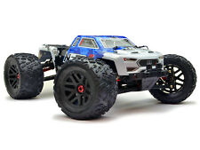 Arrma Nero 6s EDC 4x4 BLX Monster Truck RTR-Blu #ar106011 POWER BUNDLE