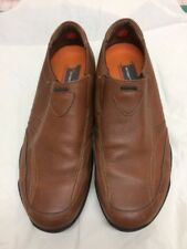 Florsheim Men's 18418-03 Driving Shoes 11 W Loafers Slip On  Cognac Brown