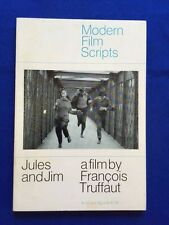 JULES AND JIM - 1ST. AMERICAN ED. OF SCREENPLAY SIGNED BY ACTRESS JEANNE MOREAU