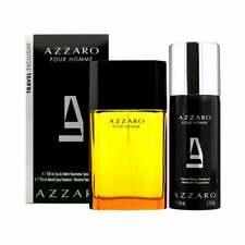 COFFRET Parfum AZZARO HOMME EDT 100ML + DÉODORANT Neuf et Sous Blister