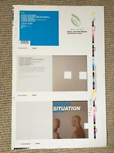 Yazoo (Vince Clarke) - Situation Remix - Rare original rejected CD proof artwork
