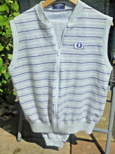VINTAGE FRED PERRY EARLY 80S SLEEVELESS JOGGING SUIT, MADE IN UK SIZE L