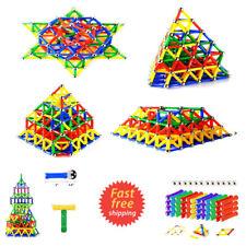 Educational Magnetic Sticks Building Blocks Toys Tiles Construction 103 Pieces