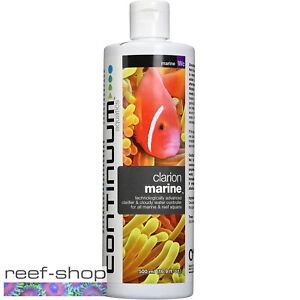 Continuum Clarion Marine 500mL Water Clarifier for Saltwater and Reef Aquariums