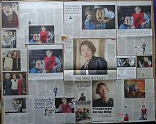 King Lear - Old Vic -Theatre clippings/reviews - Glenda Jackson