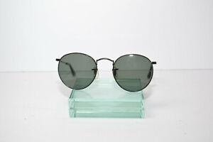 Vintage B+L Ray-Ban W0604 WVAS Round Arista Sunglasses RARE