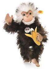 Steiff Najumo Monkey Brown Tipped Mohair Jointed 32cm Wild Animal 035128 New