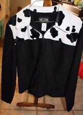 Melissa Collection Jacket size 4 Cowprint