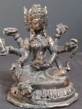 Statuette tantrique en Bronze du NÉPAL