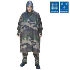 PONCHO RIPSTOP US IMPERMEABLE CAMOUFLAGE CE ARMEE MILITAIRE CHASSE PECHE PR