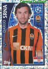 051 DARIJO SRNA  CROATIA FC SHAKHTAR METAL STICKER CHAMPIONS LEAGUE 2016 TOPPS