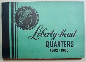 Liberty Head – Barber Quarters Album 1892-1905 – Part 1 - Meghrig